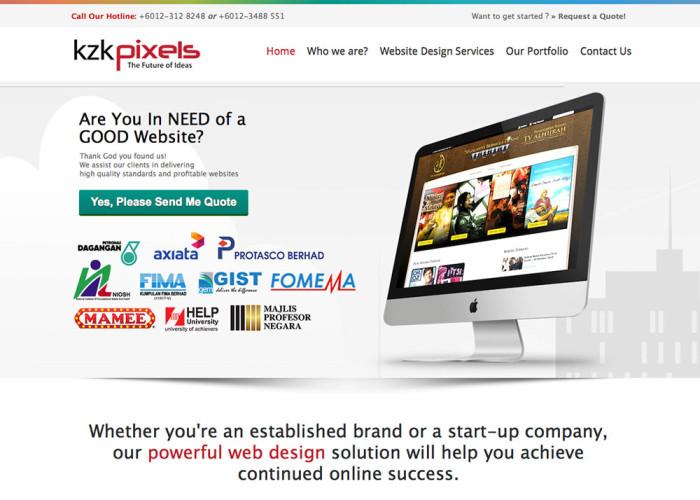 KZK Pixels | Malaysia Web Designer