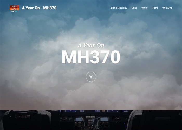 A Year on – MH370