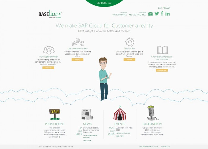 Baseliner : We make SAP Cloud for Customer a reality