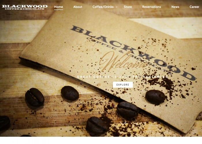BLACKWOOD Coffee & Chocolate