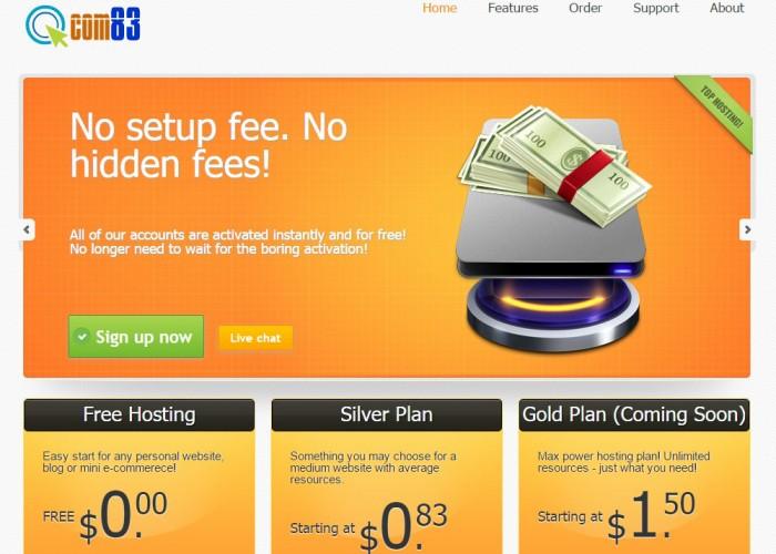Web Hosting – Free Hosting Services