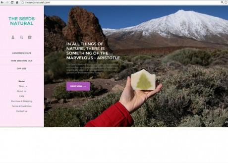 The-Seeds-Natural-website