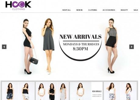 Hook-Clothing-Website-Screenshot