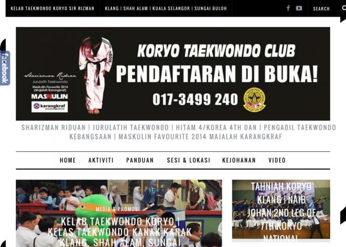 Kelab Taekwondo Koryo by Sharizman Riduan