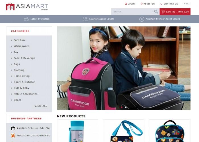 Asiamart E-commerce