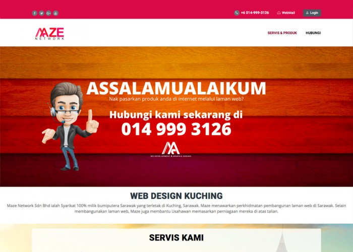 Web Design Kuching