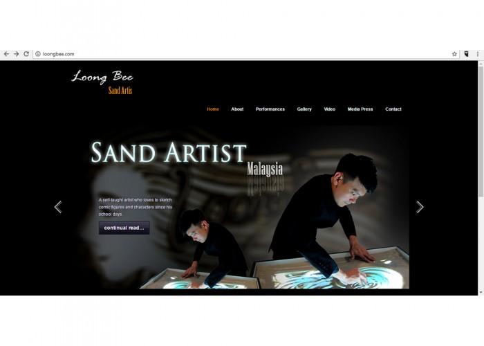 Loong Bee Sand Art Malaysia