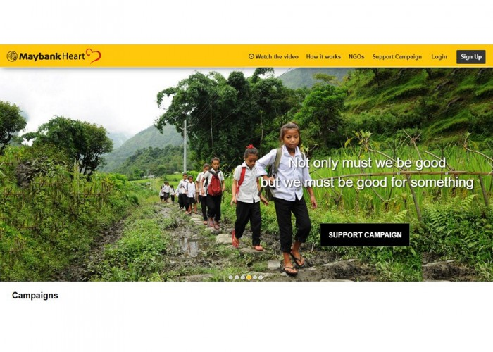 Maybank Heart