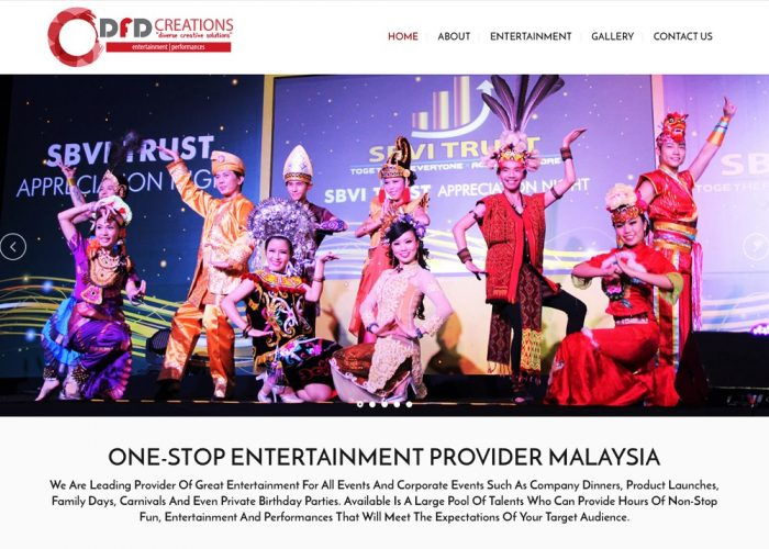 DFD Creations : Entertainment Provider Malaysia