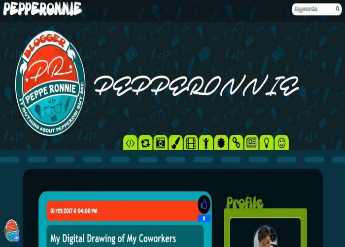 PEPPERONNIE The Programming Tutorial Blog