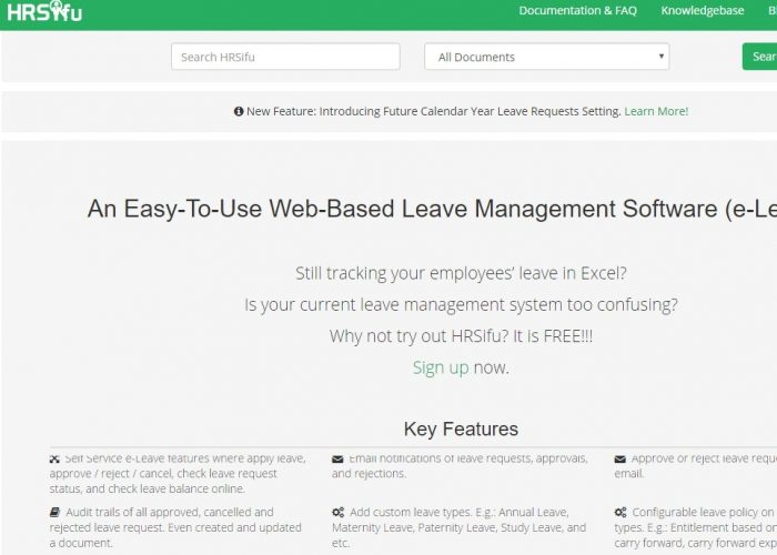 Cloud based Leave Management System