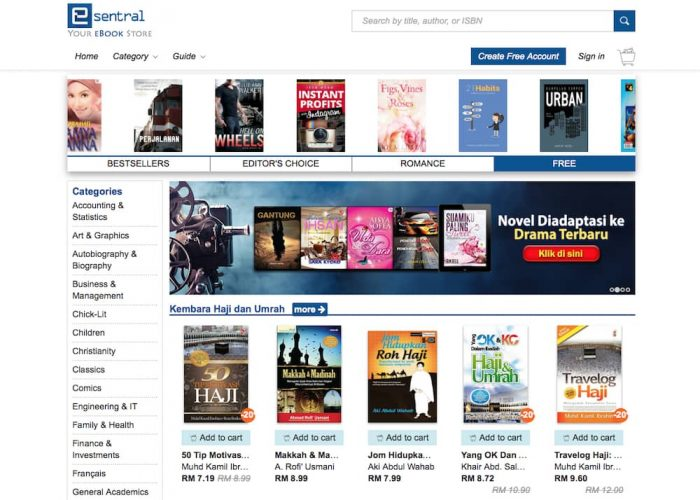 eSentral Ebook Portal