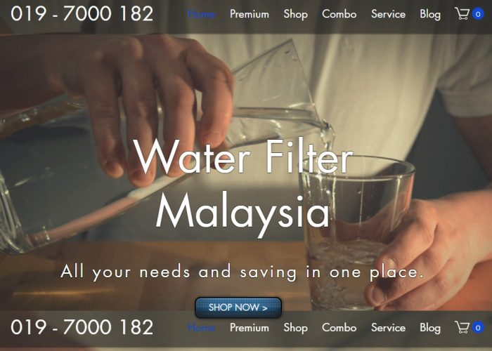 All your water filter needs and saving in one place