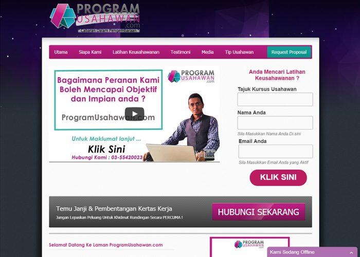 Keusahawanan Malaysia   ProgramUsahawan.com