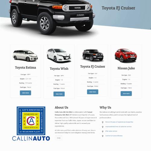Callin Auto (M) Sdn Bhd