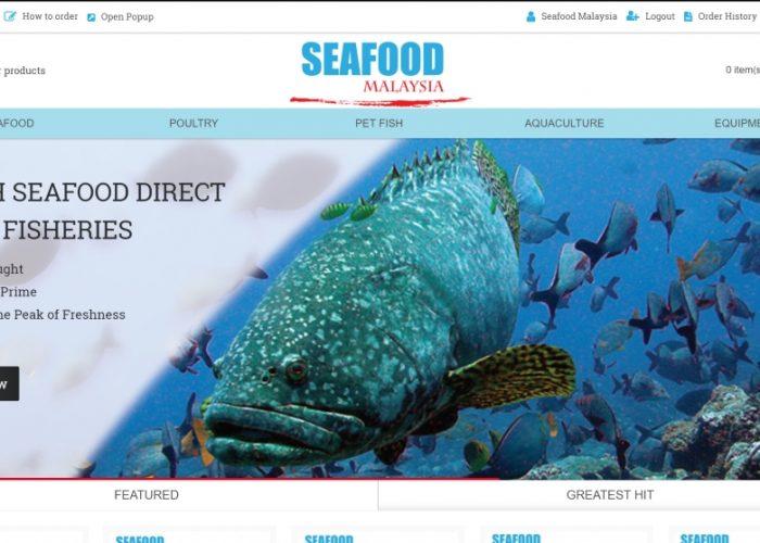 Seafood Malaysia Marketplace