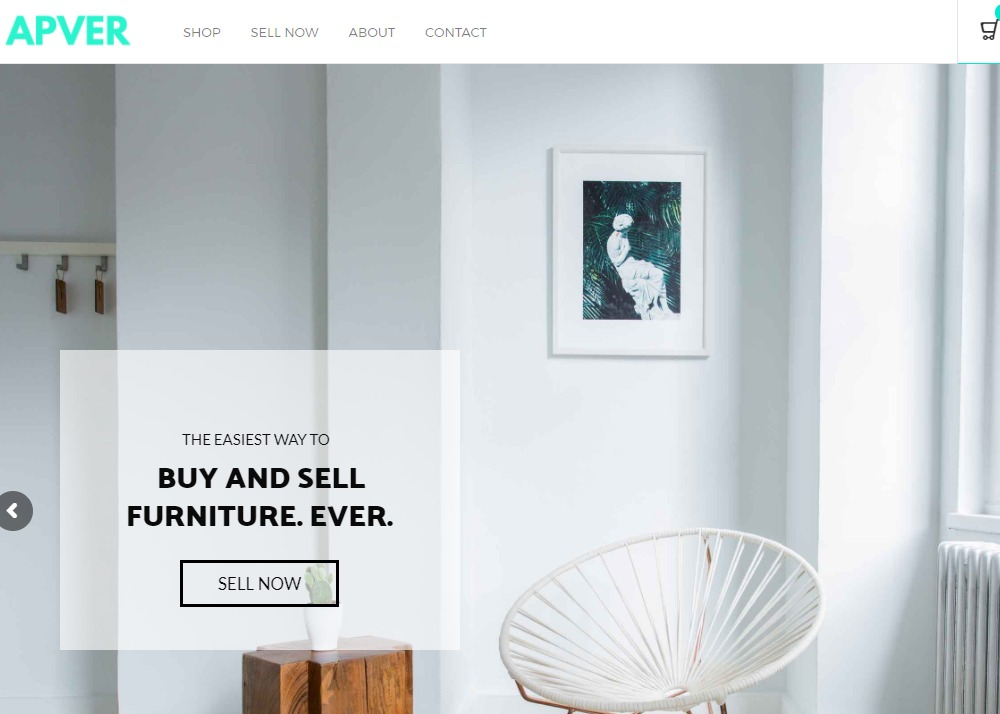 Apver the easiest way to buy and sell furniture ever for Website to sell furniture
