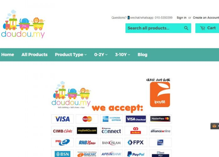 Baju Baby Shop Online Malaysia | doudou.my