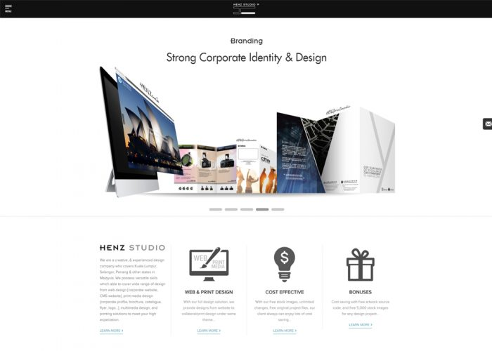 Henz Studio, Malaysia web and graphic design agency