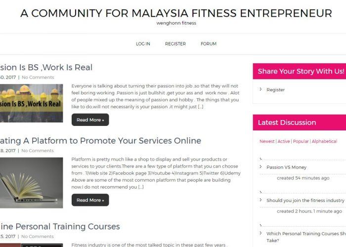 Malaysia Fitness Blog
