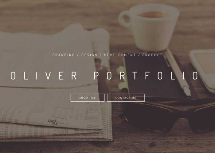 Personal portfolio/website of Oliver Sim