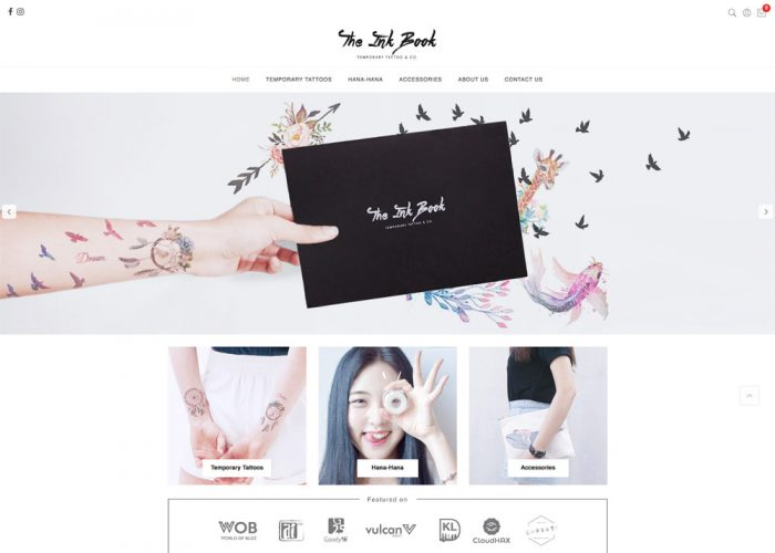 The Ink Book — Temporary Tattoo & Co.