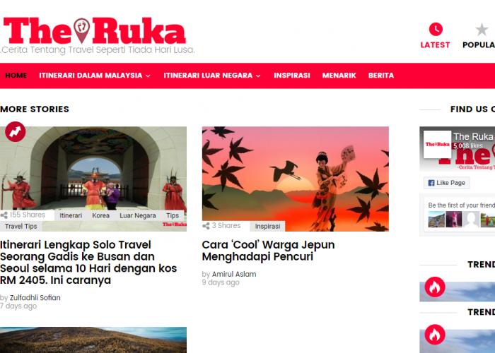 The Ruka – Cerita Tentang Travel Seperti Tiada Hari Lusa