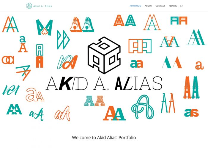 Akid Alias Portfolio Website