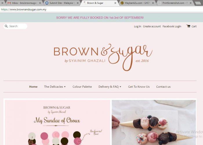 Brown & Sugar by Syainim Ghazali