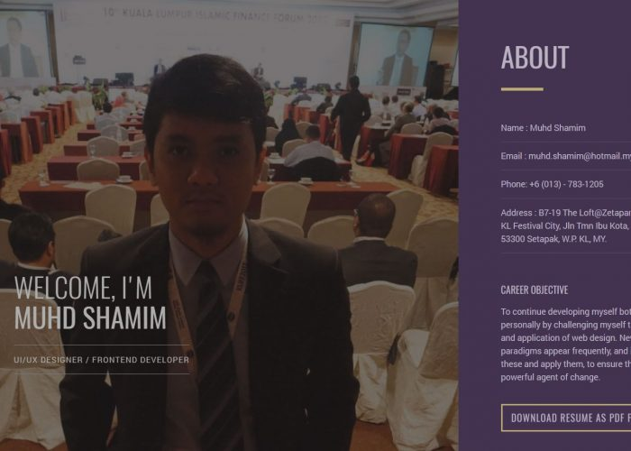 Shamim Shafiee – UI/UX Designer