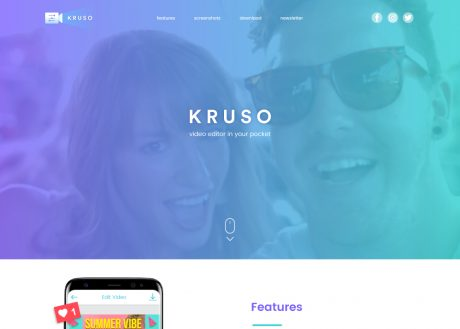 Kruso – Video Editor App