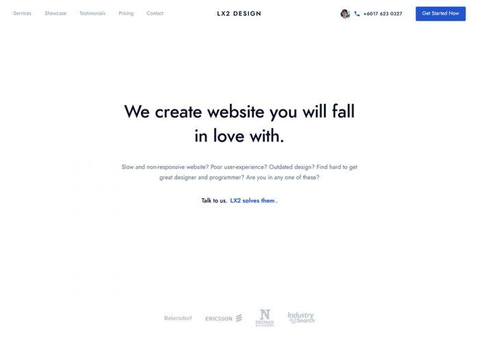 LX2 Design | Create seamless web performance
