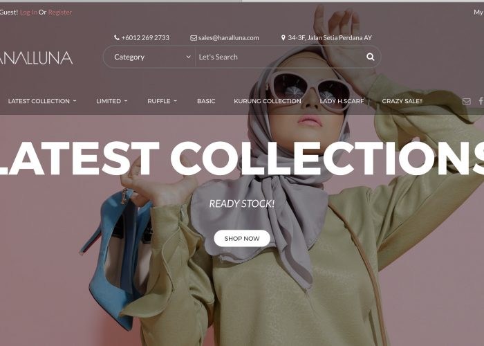 Malaysia Top Brand Trendy Attires