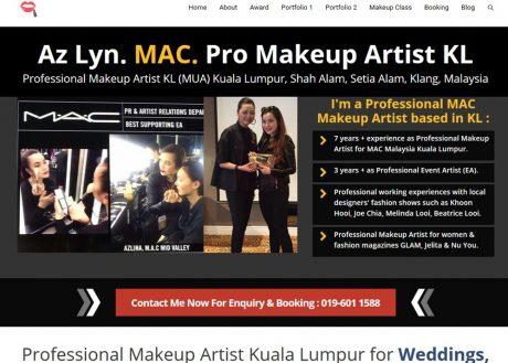 Professional MAC Makeup Artist Kuala Lumpur
