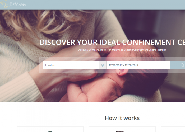 BeMama – Discover Your Ideal Confinement Centre