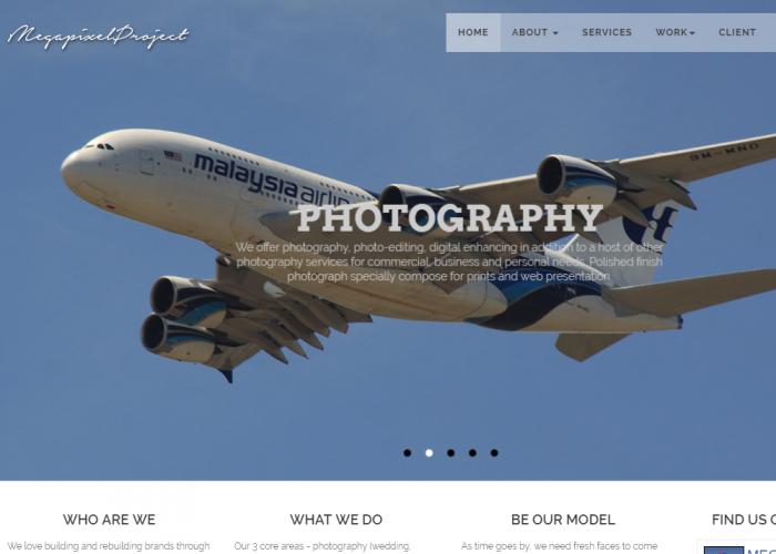 Creative Design Service Website