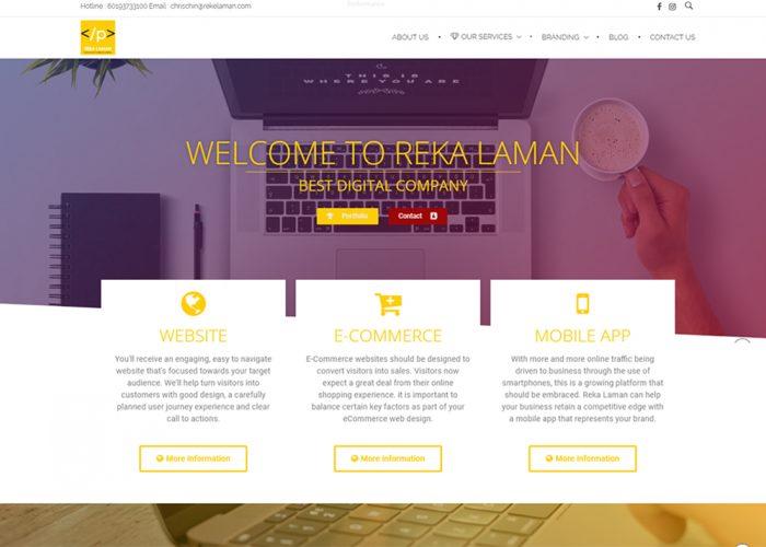 Reka Laman Web