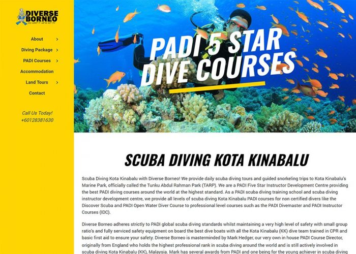 Diverse Borneo – Scuba Diving in Kota Kinabalu