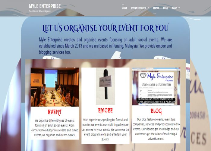 Myle Enterprise – Event Creator & Event Organiser