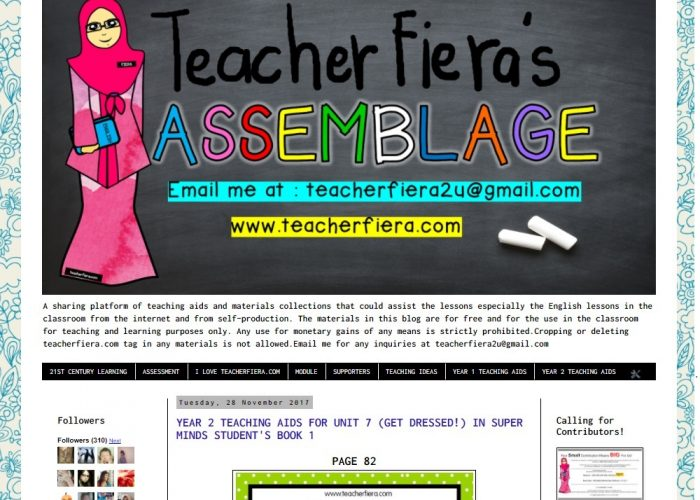 Teacher Fiera's Assemblage
