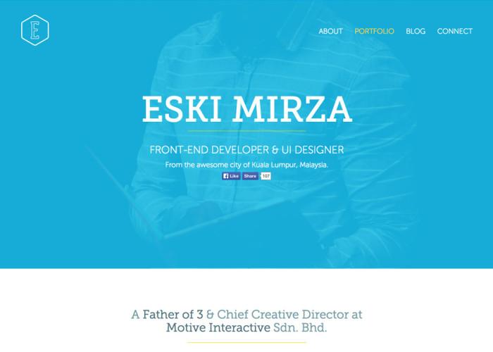 Eski Mirza – Front End Developer & UI Designer
