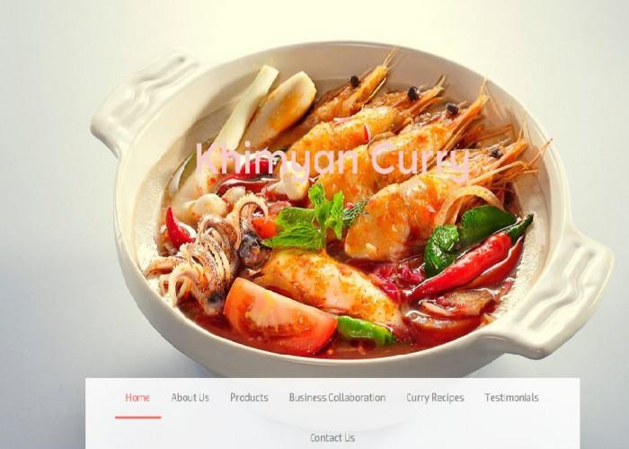 Khimyan Curry – a Malaysian Born Curry since 1992!