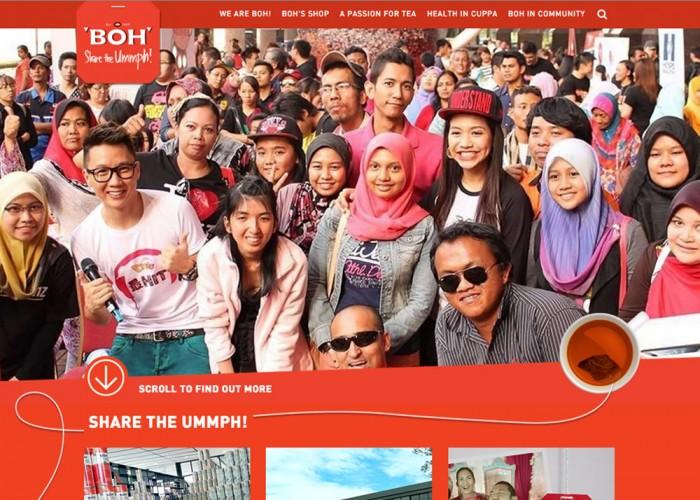 BOH Corporate Website
