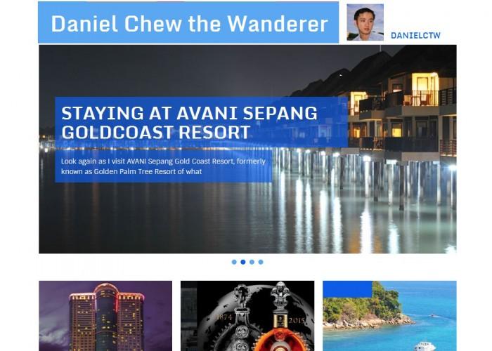 Daniel Chew the Wanderer