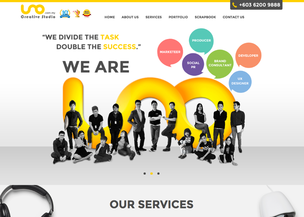 UNO Creative Studio | Malaysia Website Awards 2015