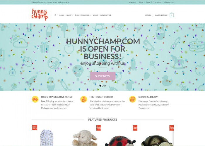 HunnyChamp.com – The Baby Goods Store