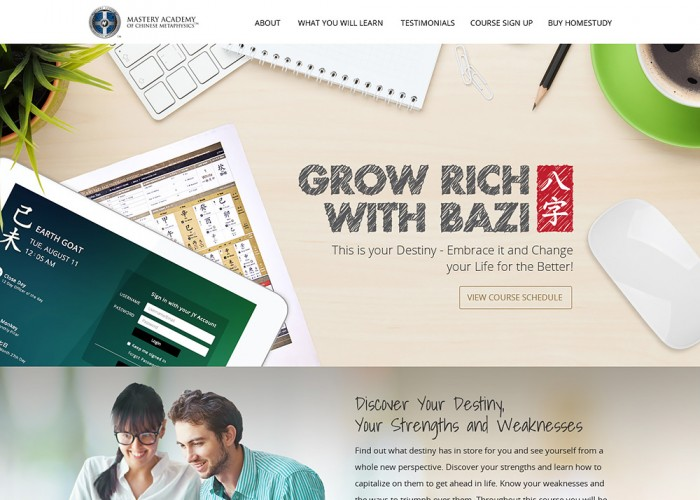 Grow Rich With Bazi