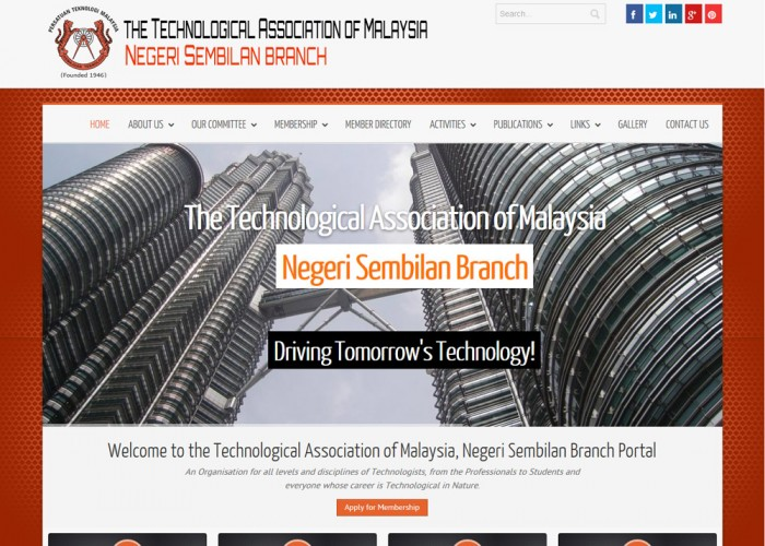 The Technological Association of Malaysia, Negeri Sembilan Branch