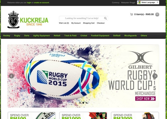 Kuckreja – Malaysia's Most Comprehensive Sports Site