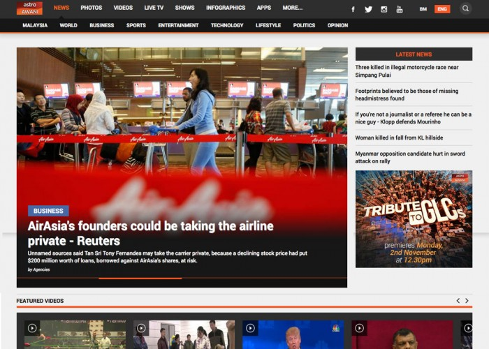 Astro AWANI – your one-stop destination for breaking news & info